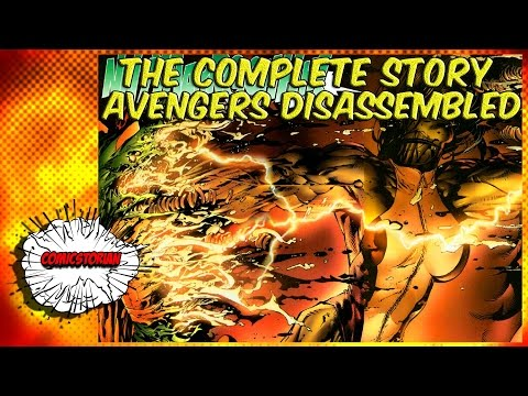 Avengers Disassembled - The Complete Story