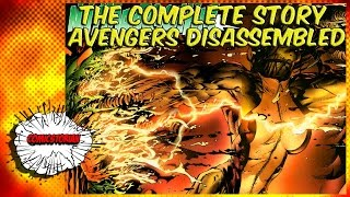 avengers disassembled the complete story