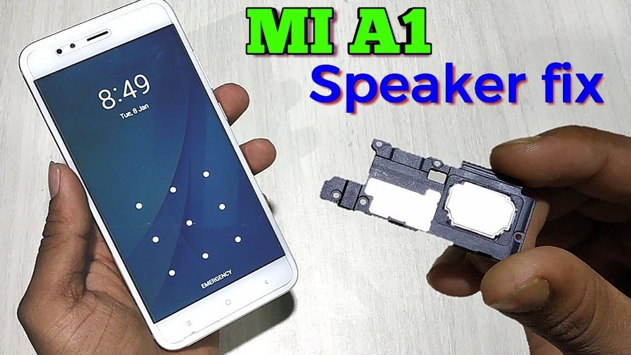 Xiaomi A1 Speaker Change |Speaker problem 🔊