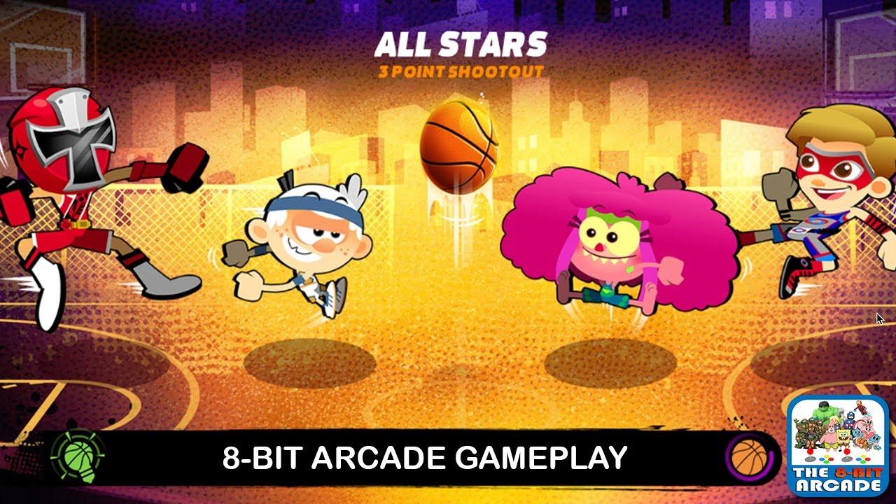 Nick Basketball Stars 2 - 3-Point Shooting & Dunk Challenge Showdown  (Nickelodeon Games)