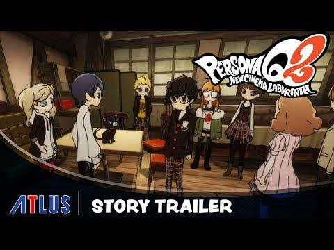 Студия Atlus представила новый трейлер Persona Q2