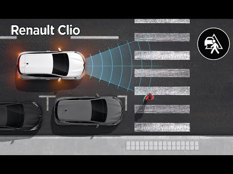 2020 Renault Clio 5 – Driver Assistance Systems