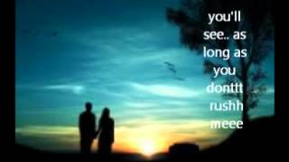 Download Don't Rush me - Michael Rossback LYRICS MP3 song and Music Video