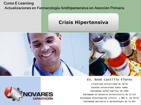 Capacitacionesonline.com Manejo de la Crisis Hipertensiva