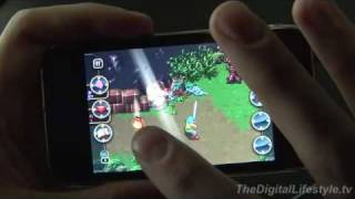 Fantasy Warrior Legends for the iPhone and iPod Touch Video