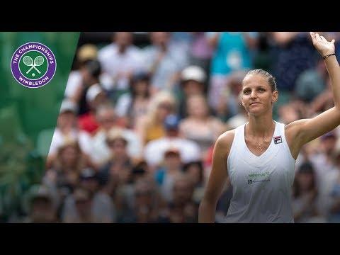 Karolina Pliskova vs Victoria Azarenka 2R Highlights | Wimbledon 2018