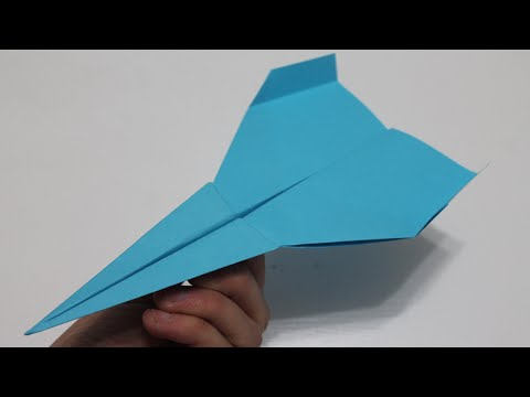 Comment faire un avion en papier facile
