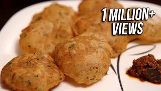 Aloo Puri Recipe | Popular Breakfast/ Snack Recipe | Ruchi's Kitchen