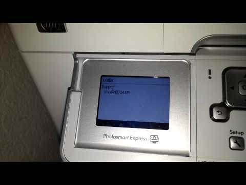 HP Photosmart C7280 printer error 0xc18a005 fix