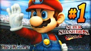 "Super Smash Bros Brawl - LIVE w/ Ali-A #1 - ""ADVENTURE BEGINS!"""