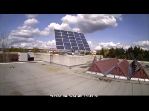 North Seattle College Solar Tracker In Action