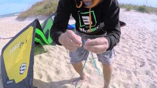 How to set up your kite and launch