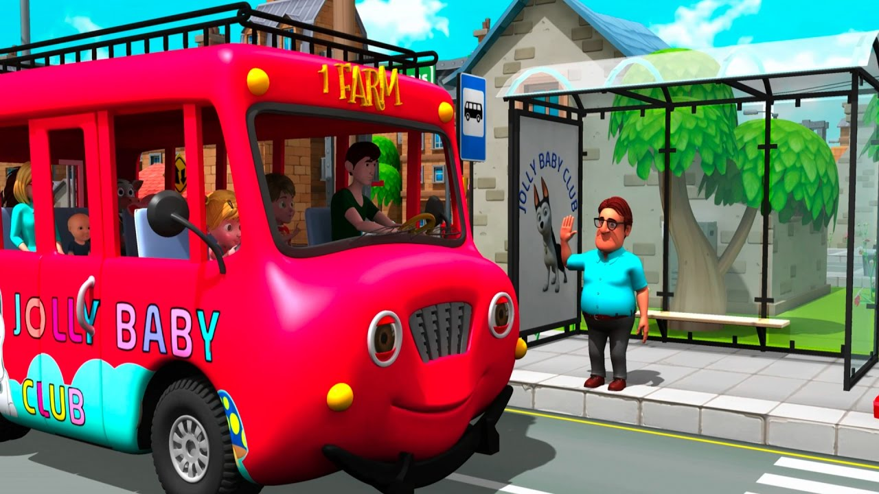 The Wheels On The Bus by Jolly Baby Club preview