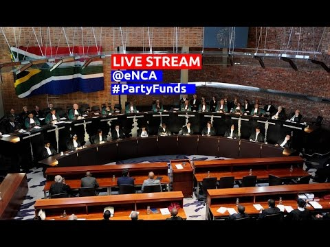 LIVE: Constitutional Court ruling on political party funding
