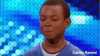 Malaki Paul, Menino (garoto) 9 anos, chora ao interpretar Beyonce (Listen) e emociona a todos thumbnail