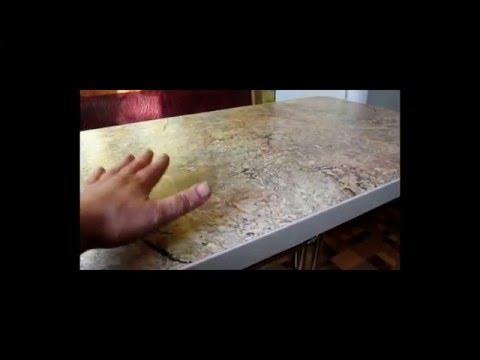 Кухонный стол из столешницы. Основание для стола - Rozana duo300.