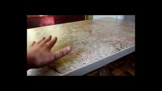 Кухонный стол из столешницы. Основание для стола - Rozana duo300.(Кухонный стол из столешницы своими руками. Бюджетный стол., 2016-03-06T20:31:53.000Z)