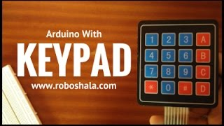 Keypad with Arduino | Simple Security System