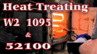 Heat Treating - W2, 1095 & 52100