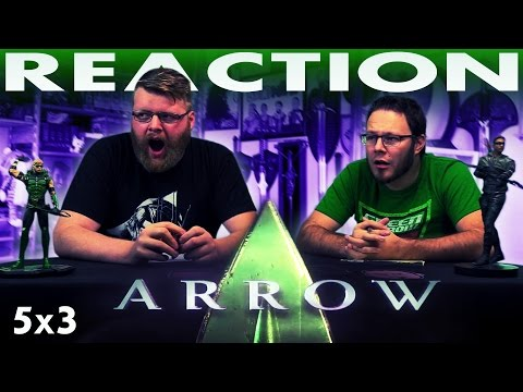 "Arrow 5x3 REACTION!! ""A Matter of Trust"""