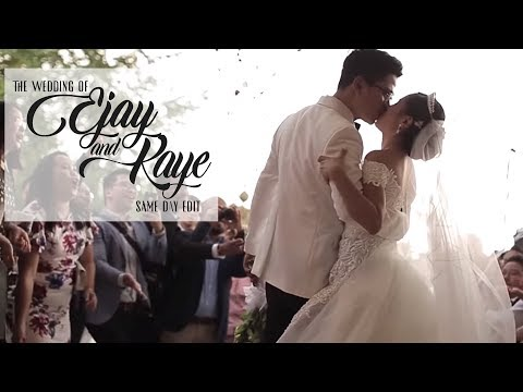 Ejay and Kaye | On Site Wedding Film by Nice Print Photography