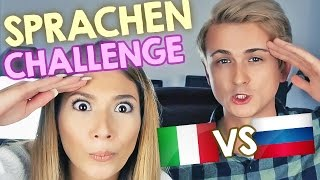 Sprachen CHALLENGE mit Paola Maria | ITALY vs RUSSIA