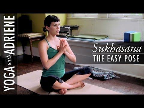 Sukhasana (The Easy Pose) Yoga With Adriene