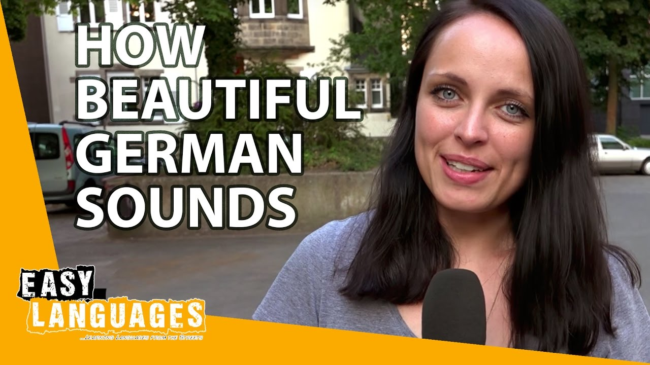 How Beautiful German Sounds Compared To Other Languages Youtube