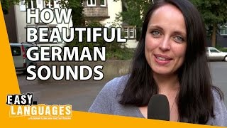 How beautiful German sounds compared to other languages thumbnail