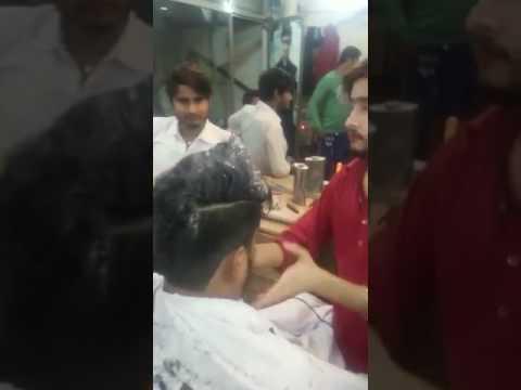 Hair styl  making