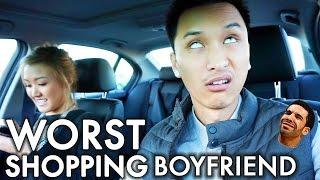 Worst Shopping Boyfriend | #vlogsgiving