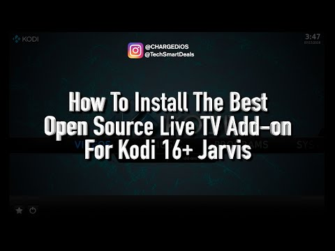 How to Install the Best Open Source Live TV Add-on for Kodi 16+ (ALL DEVICES)