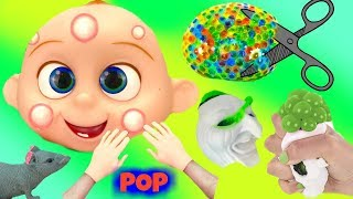 Wacky Pimple Popping Wednesday Cutting Open Wubble Squishy Slime Balls