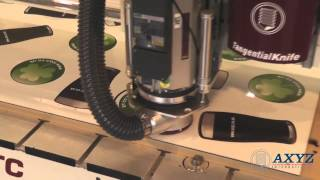 Print Finishing with Knife and Routing Tools | CNC Router | AXYZ International