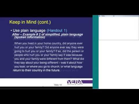 Using Telephonic Interpreters: Mindfulness and Mastery Webinar