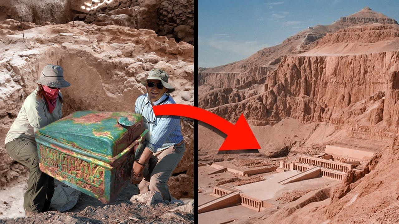 This Mysterious Chest Could Reveal The Location Of A Tomb Of A Lost Pharaoh!