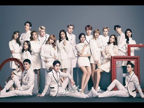 Exo and twice moments youtube exo and twice moments stopboris Images