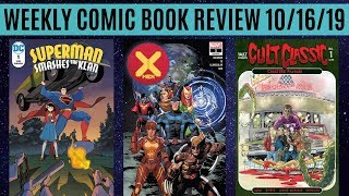 Weekly Comic Book Review 10/16/19