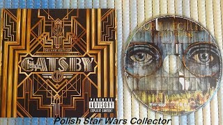 The Great Gatsby Deluxe Edition Soundtrack from Baz Luhrmann's Film Unboxing OST