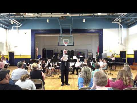 2019 May 14 - 6th grade band concert - G.C. Hawley Middle School