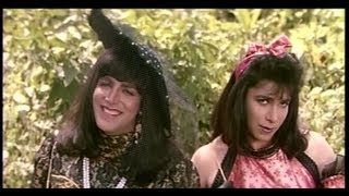 Akshay Kumar and Deepak Tijori Disguise themselves as Girls (Khiladi)