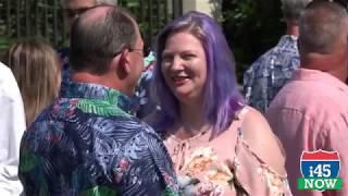 #GalvestonTX Couples renew wedding vows