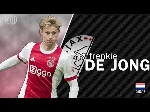 Frenkie De Jong | Ajax | Goals, Skills, Assists | 2017/18 - HD