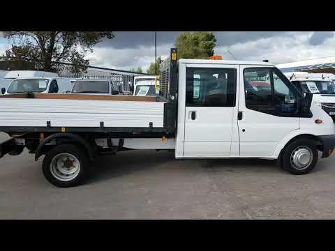 BJ64 NYG - Ford Transit Crew Cab Tipper