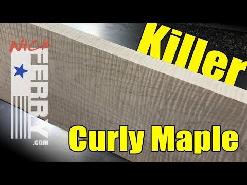 Ⓕ Killer Curly Maple Keepsake Box Build - PART ONE (ep85)