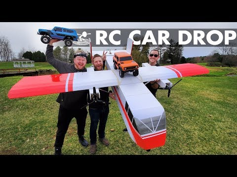 Operation RC Car Air Drop   Full Send! 😱