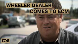 Wheeler Dealer comes to Eye Candy Motorsports