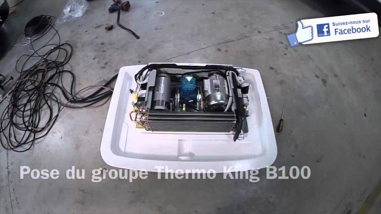THERMO KING INSTALLATION B100