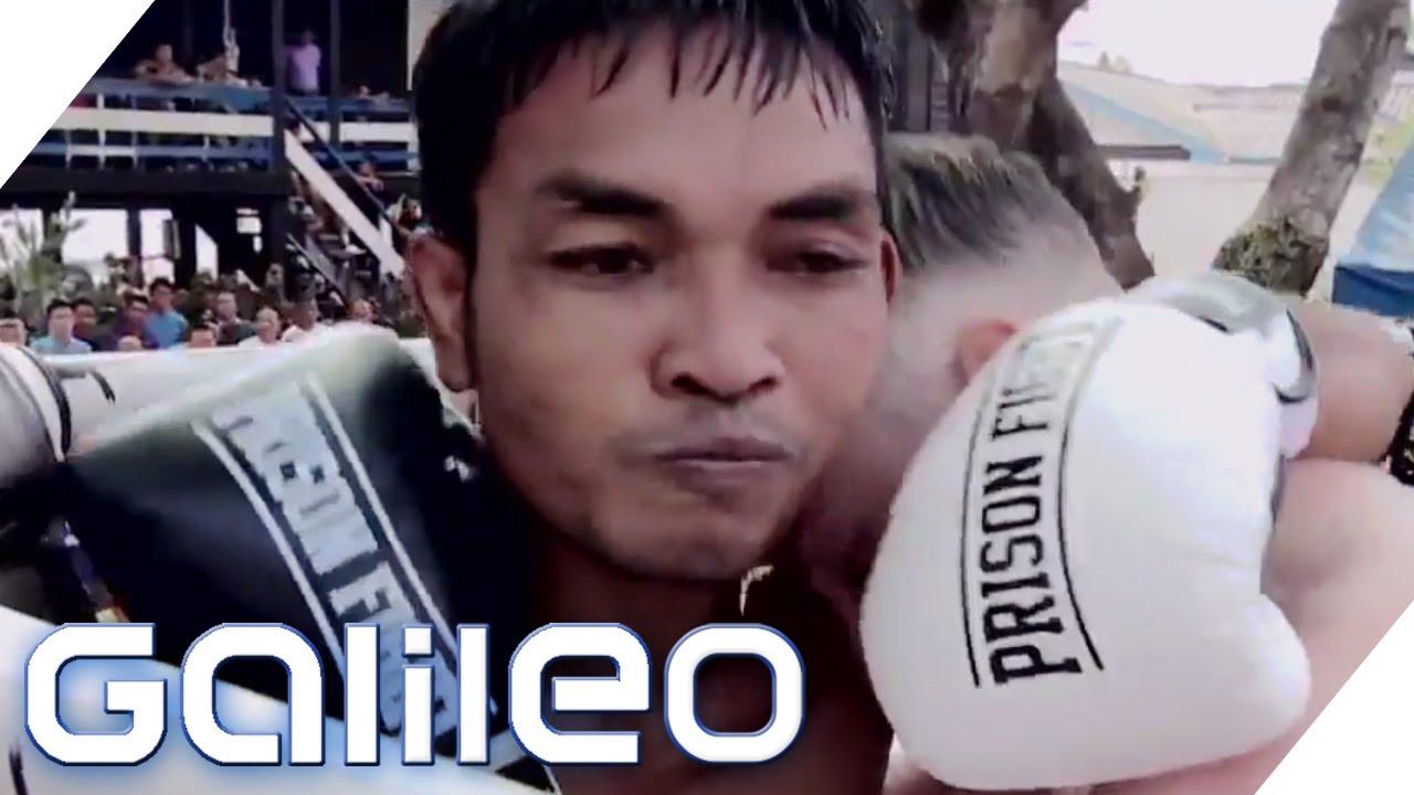 Thailändische Häftlinge kämpfen um die Freiheit | Galileo | ProSieben