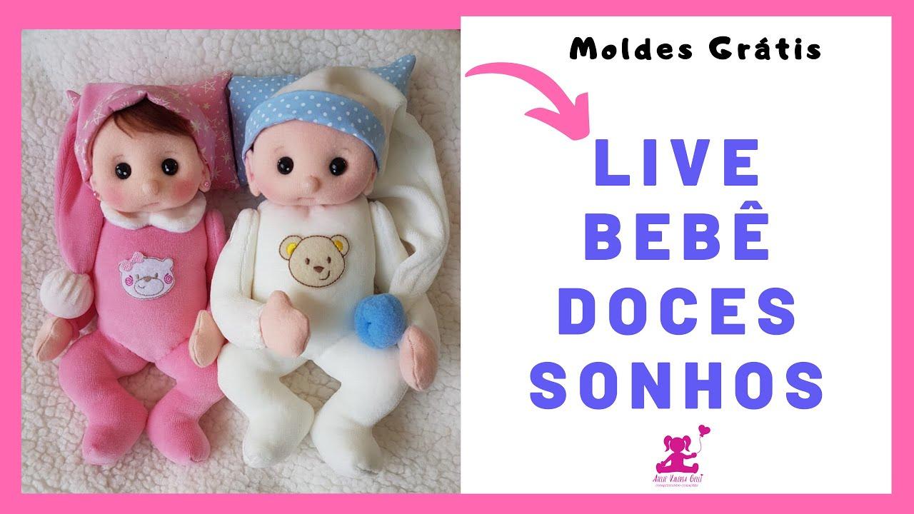 Live bebe doces sonhos do dia 8/04